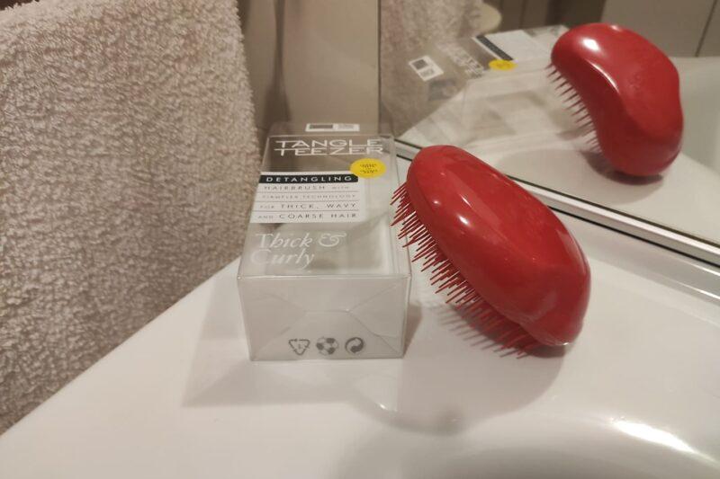 Spazzola Tangle Teezer per capelli ricci (review)